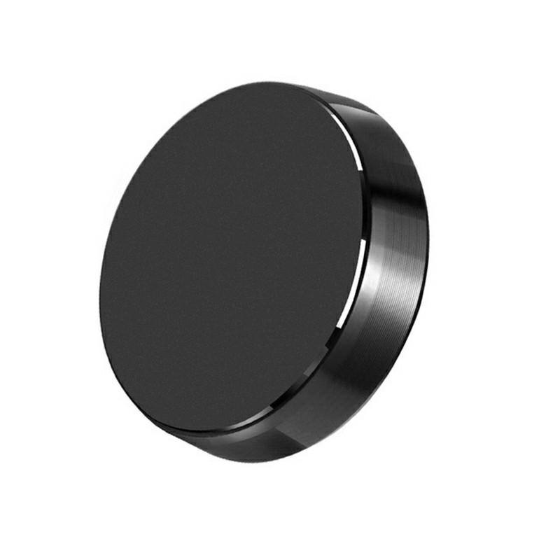 Magnetic Metal Car Dashboard Universal Phone Holder - Black