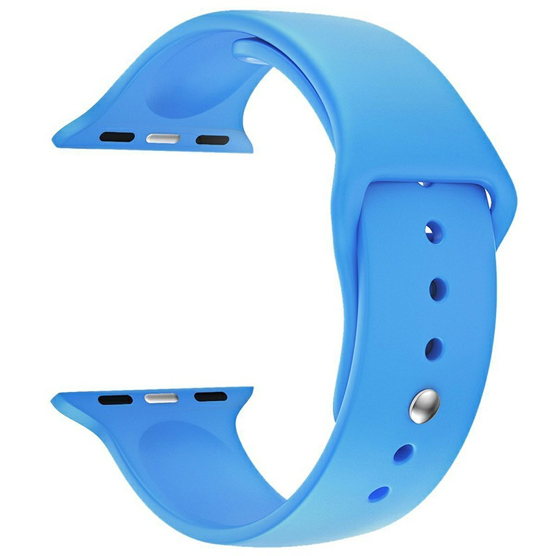Silicone Sport Wristband for for Apple Watch 42mm - Blue