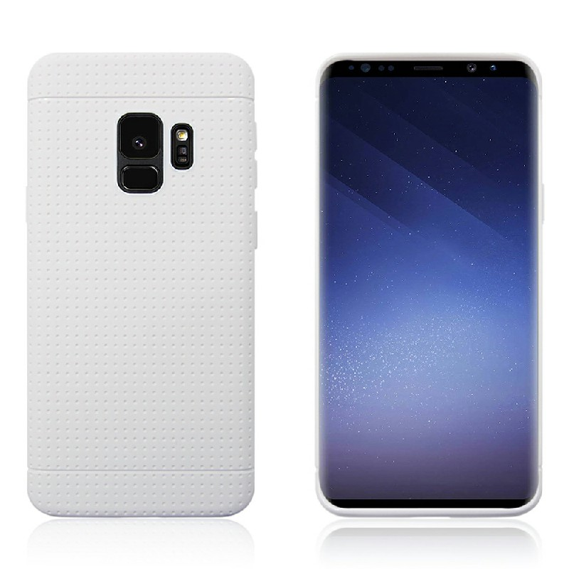 Soft TPU Back Cover for Samsung Galaxy S9 - White