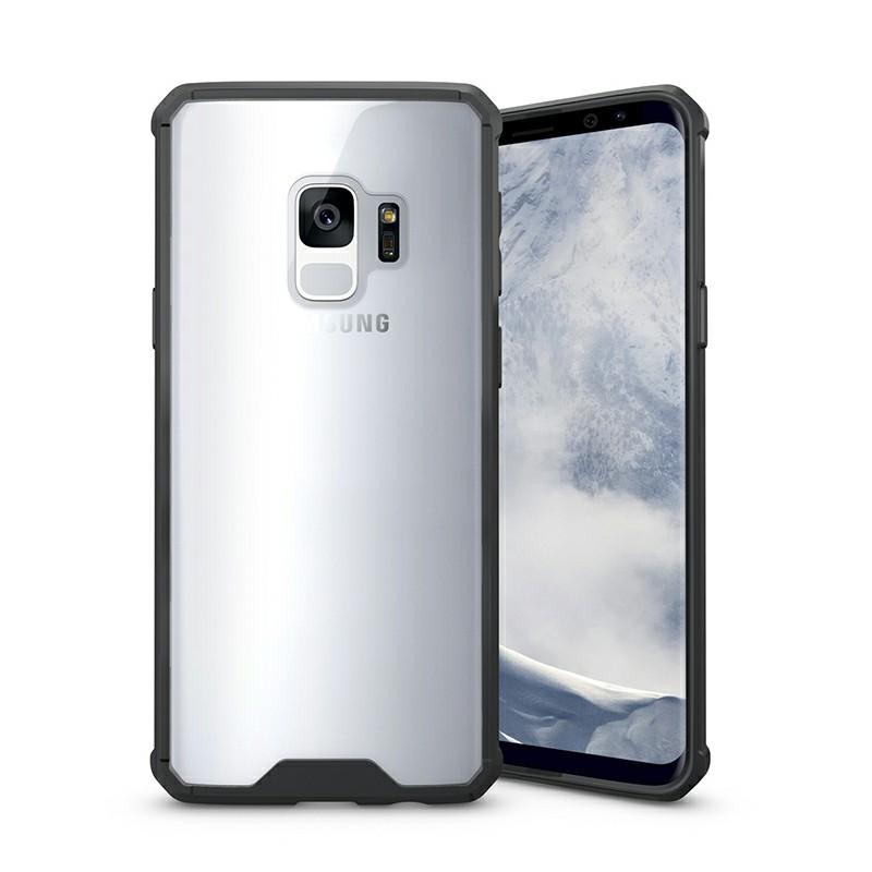 Samsung S9 TPU Bumper Phone Case - Black