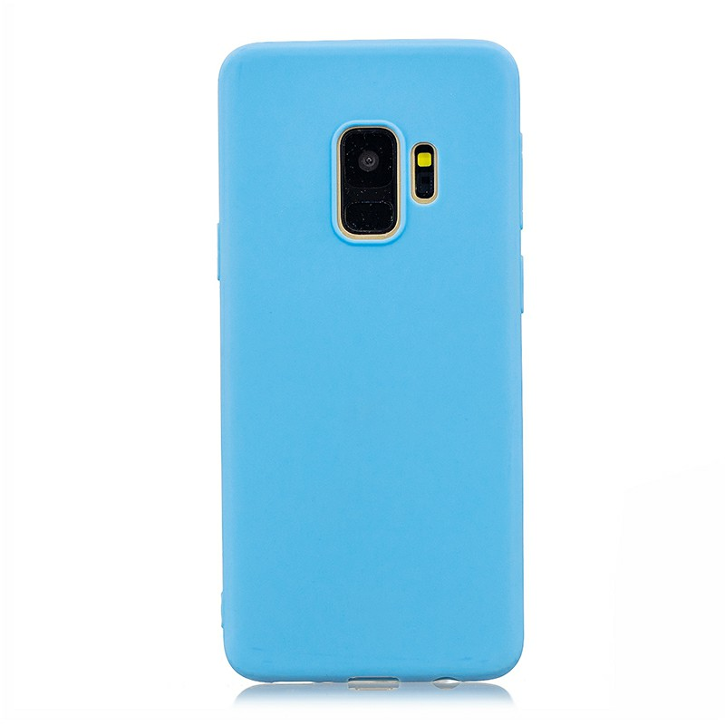 Soft TPU Back Cover for Samsung S9 - Blue