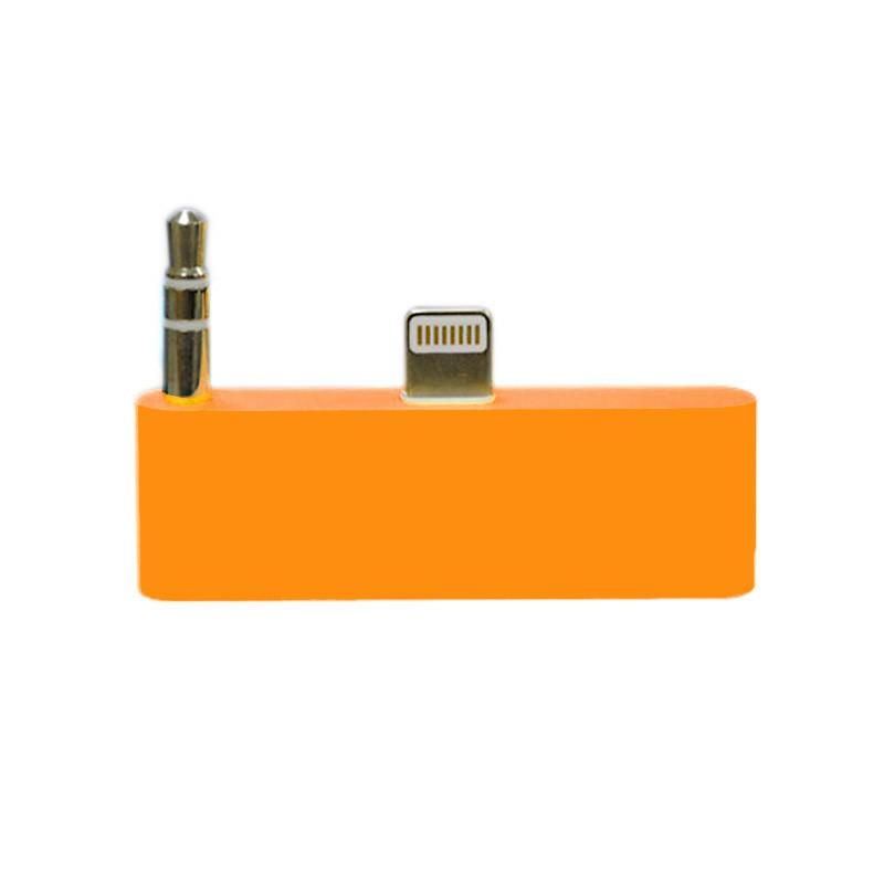 30 pin to 8 pin Audio Adapter Converter - Orange