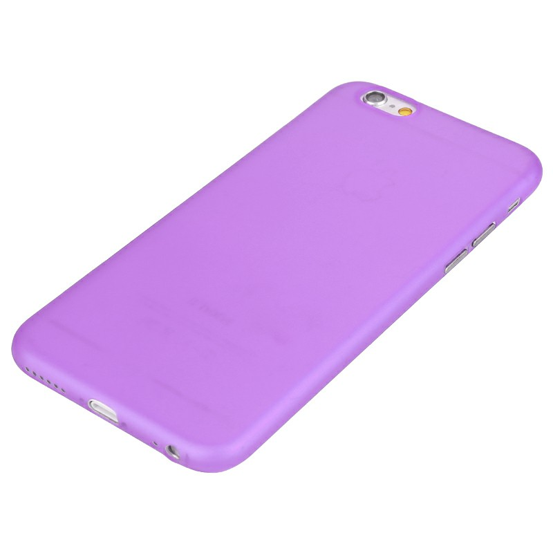 PC Frosted Back Cover for iPhone 6 - Purple