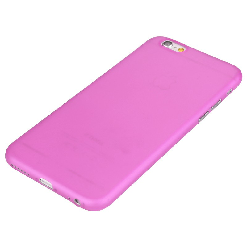 Hard PC Frosted Back Cover for iPhone 6 - Rose Red