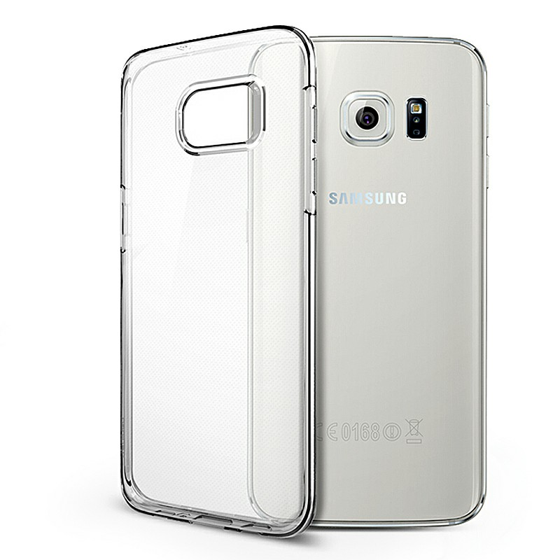 Slim Transparent TPU Case with Shockproof Particles Corner for Samsung Galaxy S7