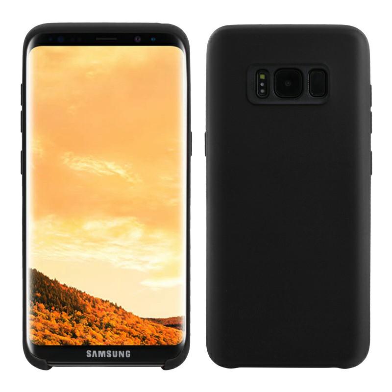 Soft TPU Phone Skin Cover for Samsung Galaxy S8 - Black
