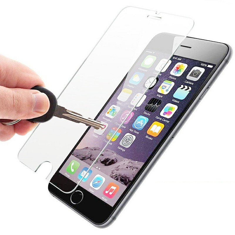 Transparent Tempered Glass for iPhone 6 Plus