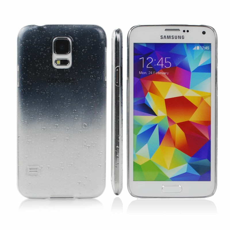 Hard Back Cover for Samsung Galaxy S5 - Black