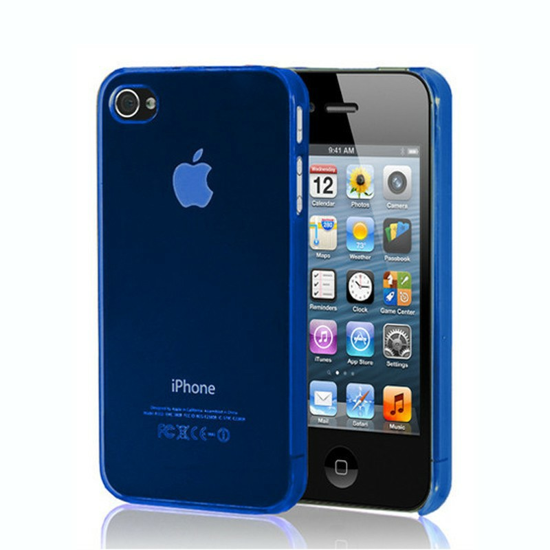 0.5mm Ultra Thin Case Cover for iPhone 5 - Blue