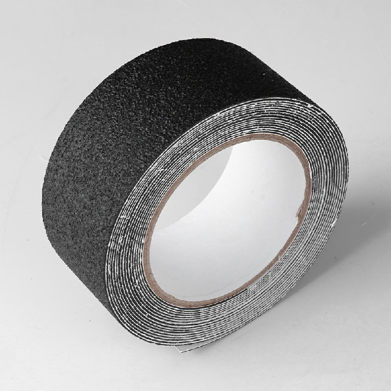 Anti Slip Tape Safety Flooring Sticky High Grip Adhesive Black - 50mm x 5m
