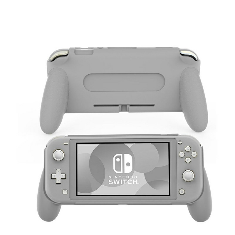 Comfortable and Ergonomic Switch Lite Hand Grip for Nintendo Switch Lite - Grey