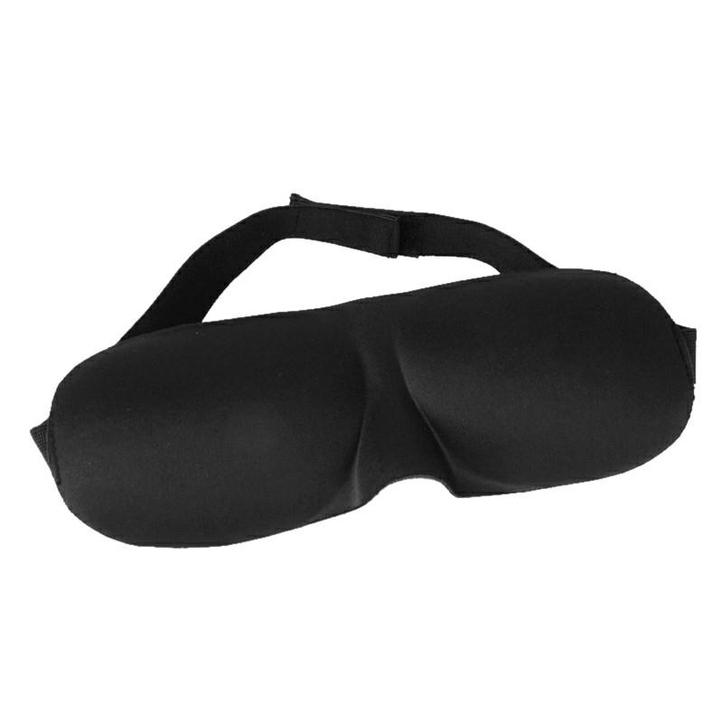 3D Eye Mask Cover - Black