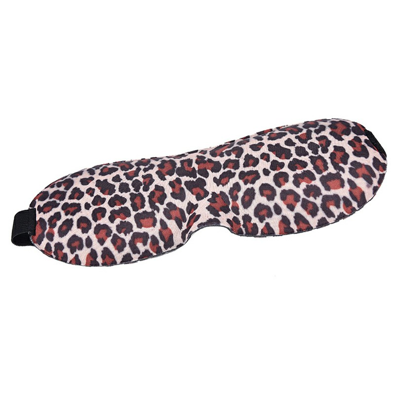 3D Eye Mask Cover - Leopard