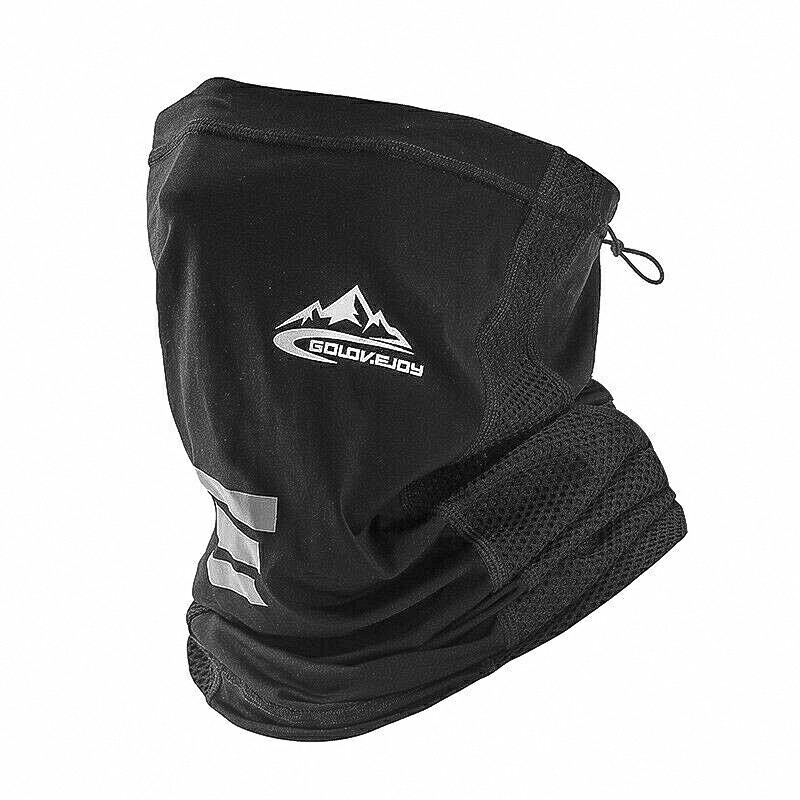 Neck Gaiter Bandana Headband Cooling Face Scarf - Black