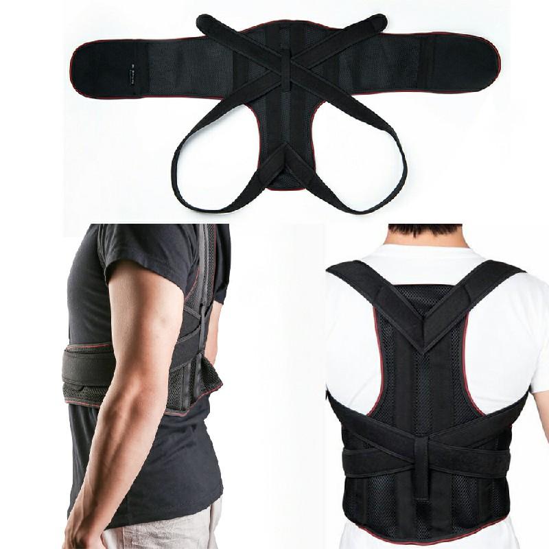 Posture Corrector Brace Back Support Clavicle Shoulder Belt - XL