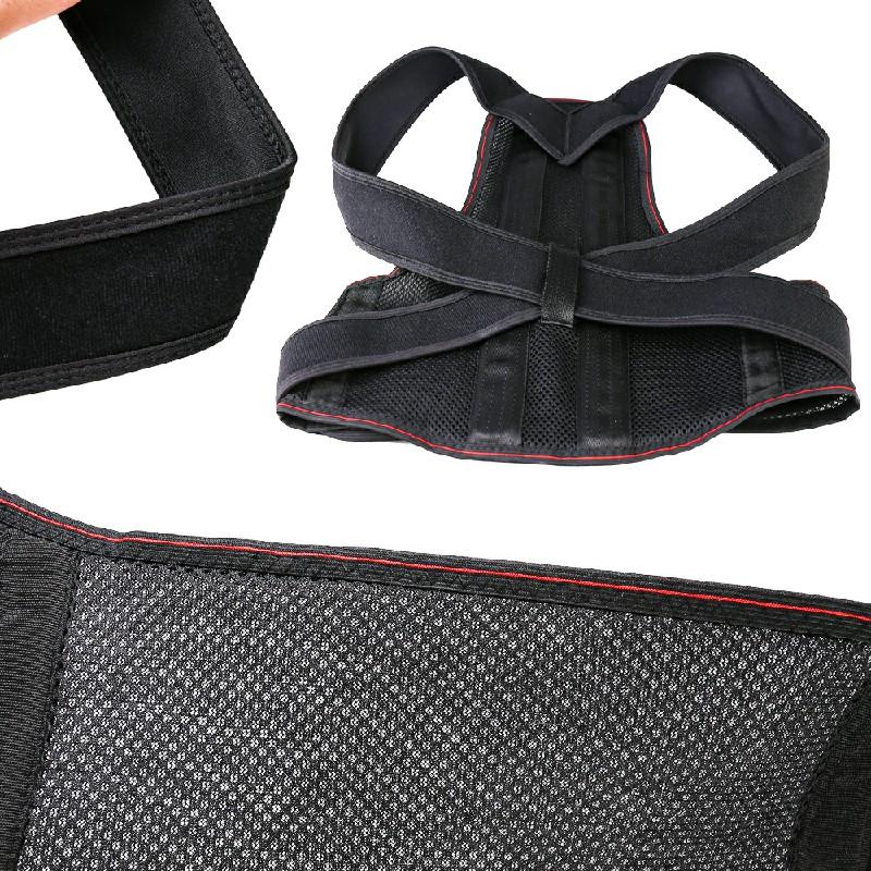 Posture Corrector Brace Back Support Clavicle Shoulder Belt - M
