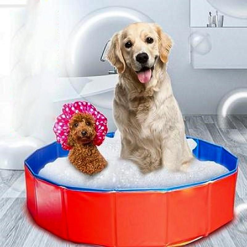 Dog Puppy Pool Bath Swimming Pool - 160x30cm