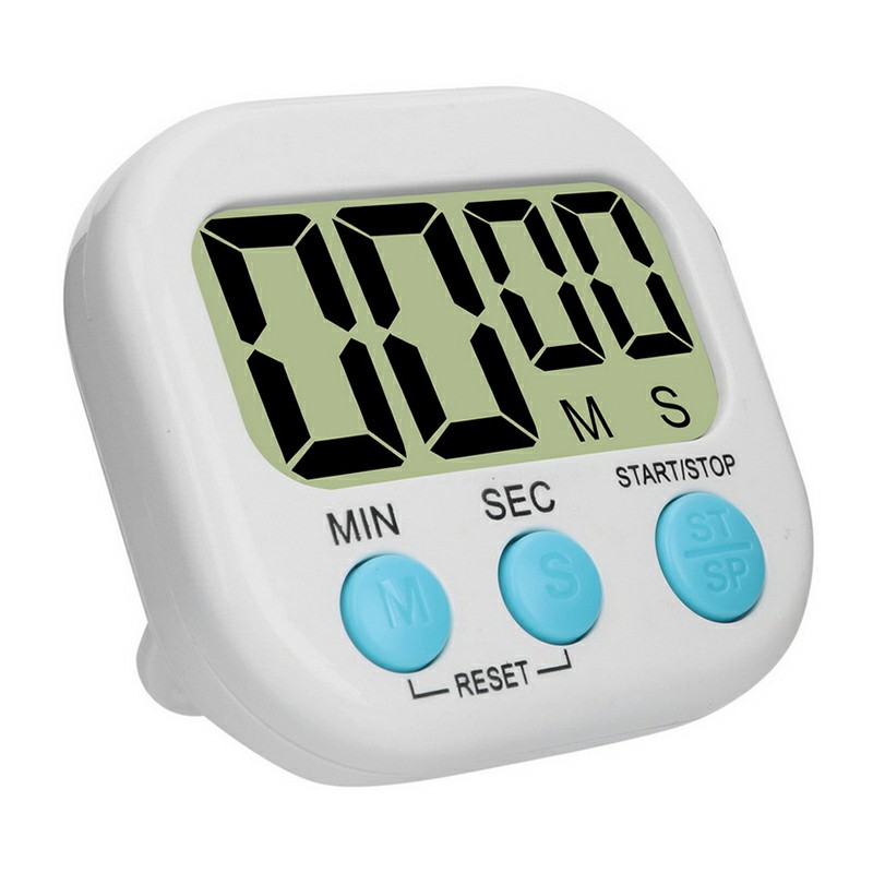 Digital Kitchen Timers with Loud Alarm - White