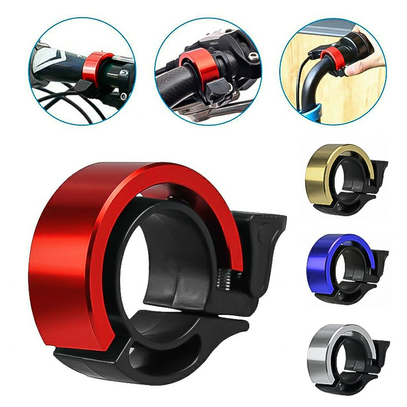 Aluminum Alloy Cycling Ring Loud - Red