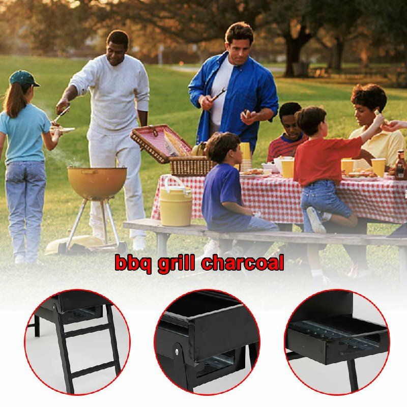 Collapsible Pullable Portable Outdoor Picnic Cooking Stove - Size L