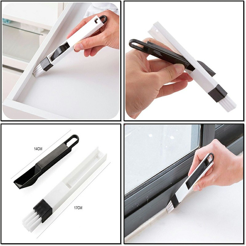 Small Cleaning Brush Household Dust Brush Clean Sliding Door Vents Keyboard