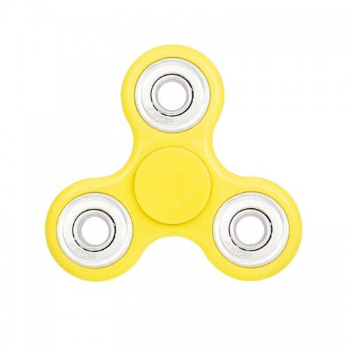 Fidget Hand Tri-Spinner - Yellow