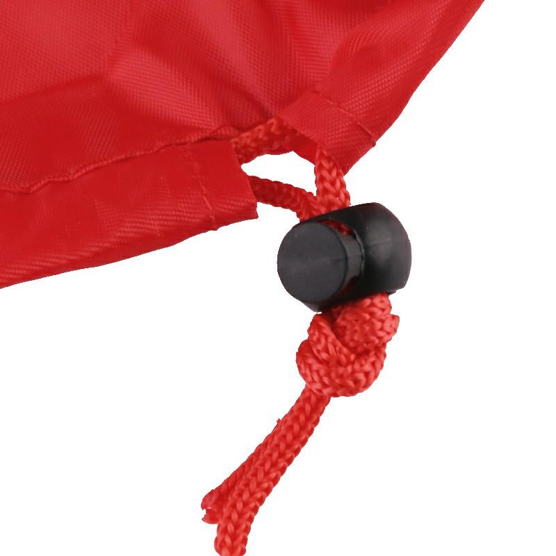 Drawstring Cosmetic Bag - Red