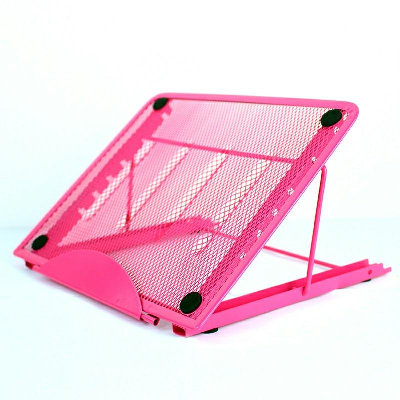 Adjustable Laptop Stand - Pink