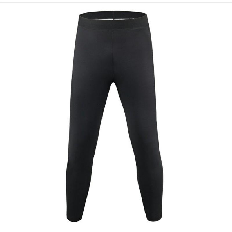 Womens Sauna Neoprene Pants Yoga Leggings - Black XXL/3XL