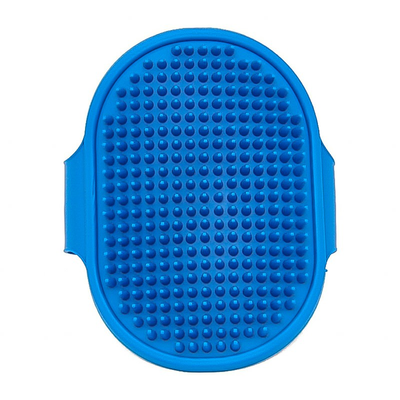 Pet Grooming Brush Rubber Pad - Blue