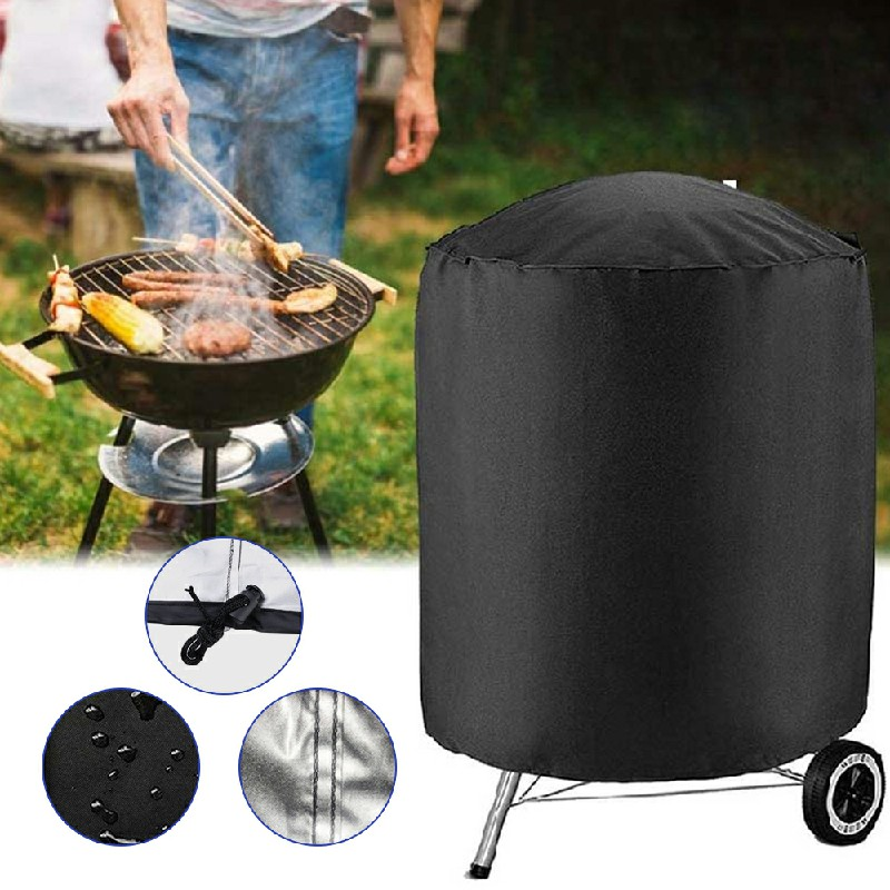 Waterproof Gas Barbeque Grill Cover Garden Protector - 62x105cm