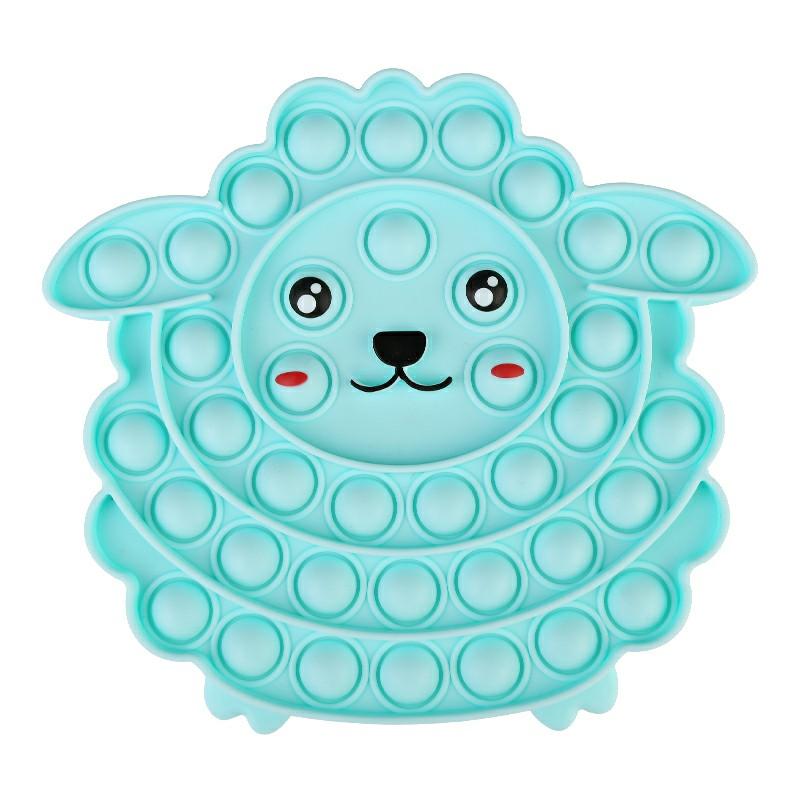 Pop it Fidget Game Among Us Anti Atress Products Sheep - Blue