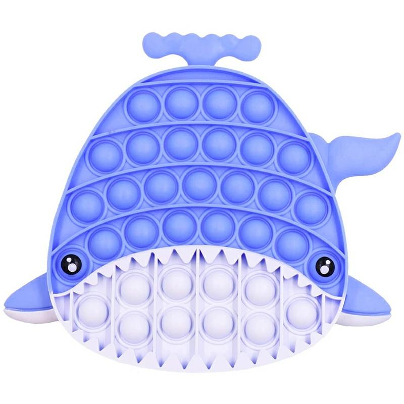Pop it Fidget Game Among Us Anti Atress Products - Shark