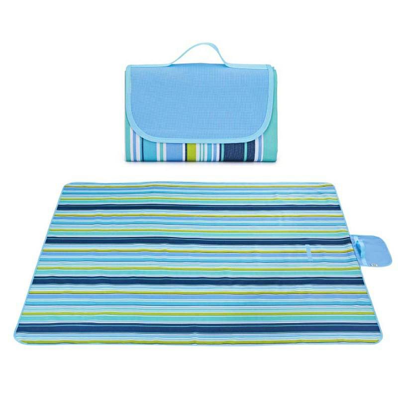 Waterproof Picnic Blanket - Blue