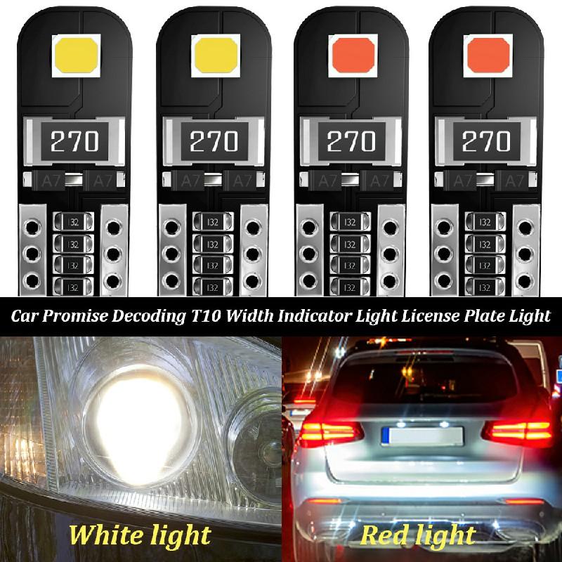 2 pcs Car LED Bulbs Canbus Error Free 5W - White Light