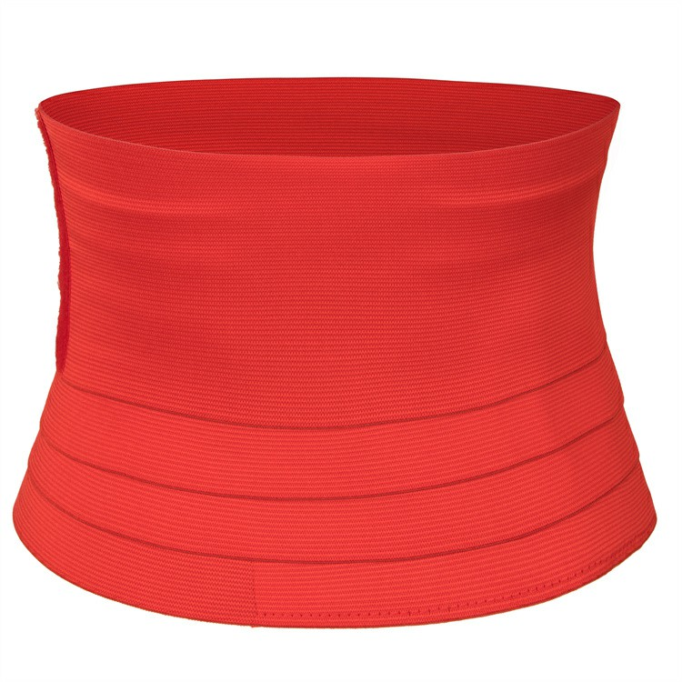 Waist Bandage Body Shaper Red - 4M