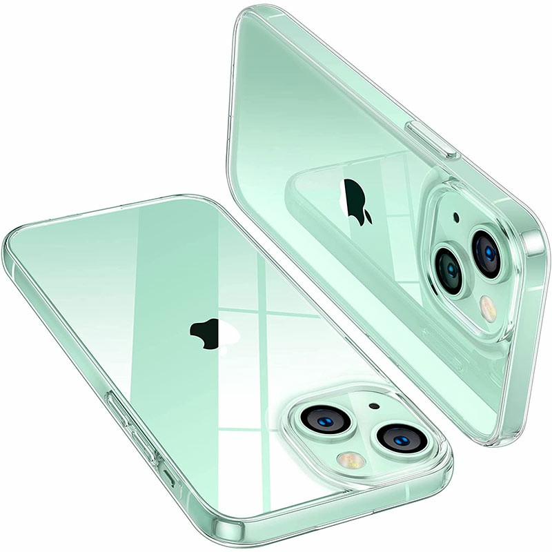 Ultra Slim Minimal Clear Shockproof Protective Cases Compatible with iPhone 13 Mini