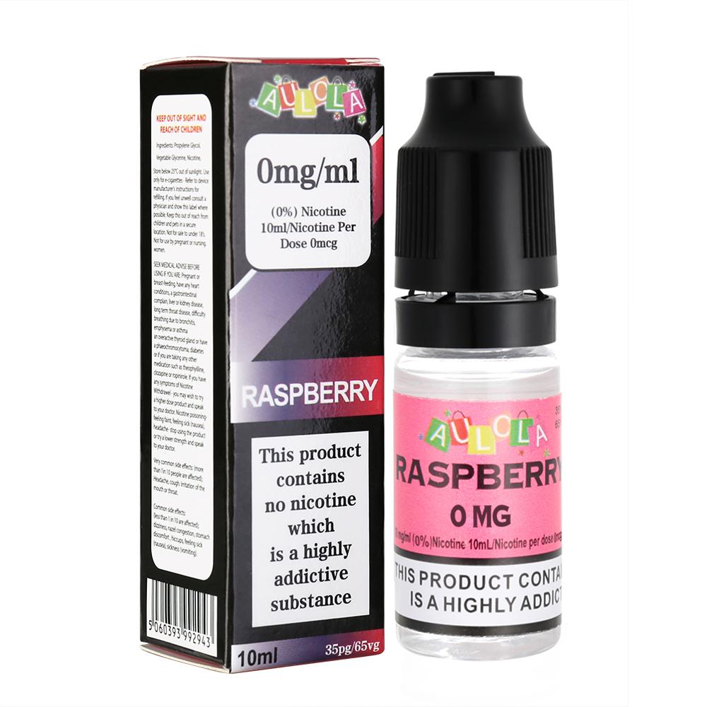 Aulola TPD Raspberry Aroma Premium E-liquid-10ML-0MG