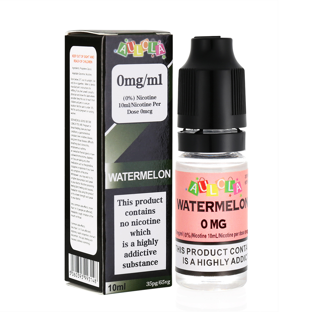 Aulola TPD Original Sweet Red Watermelon Sensation E-liquid-10ML-0MG
