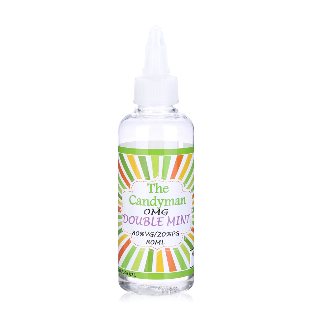 Candyman-Double Mint Flavours E-liquid-80ml-0mg