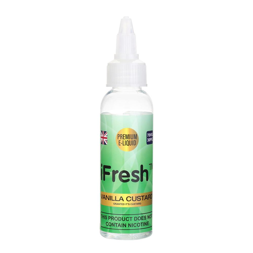 Ifresh E-liquid Vanilla Custard Flavour -0mg -50ml