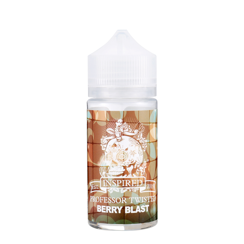 PROFESSOR TWISTED-Nicotine Free Berry Blast Flavours E-liquid-80ml