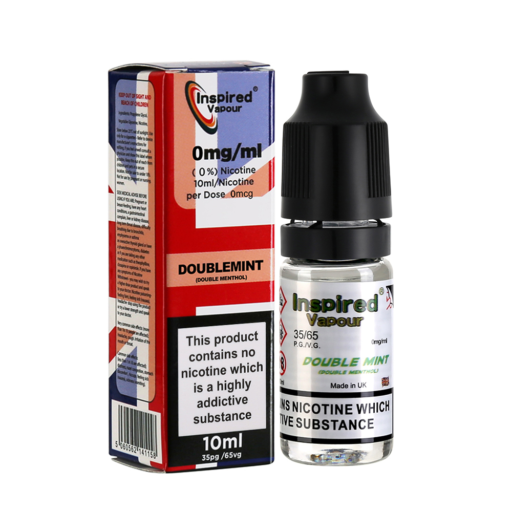Inspired-Double Menthol-30/70-0mg-10ml