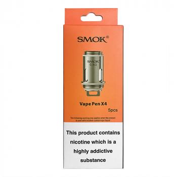SMOK Vape Pen X4 Coil Unit 0.4ohm (5PCS)