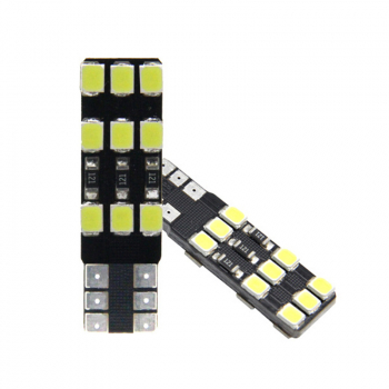T10-2835-18SMD Canbus LED Car Width Lamp White