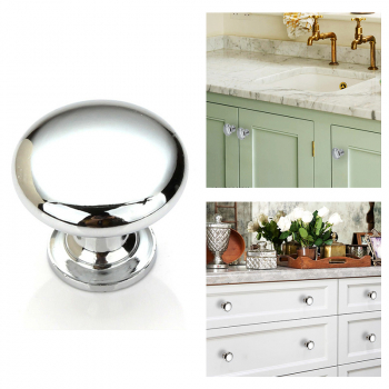 30mm Zinc Alloy Round Drawer Handles Knobs