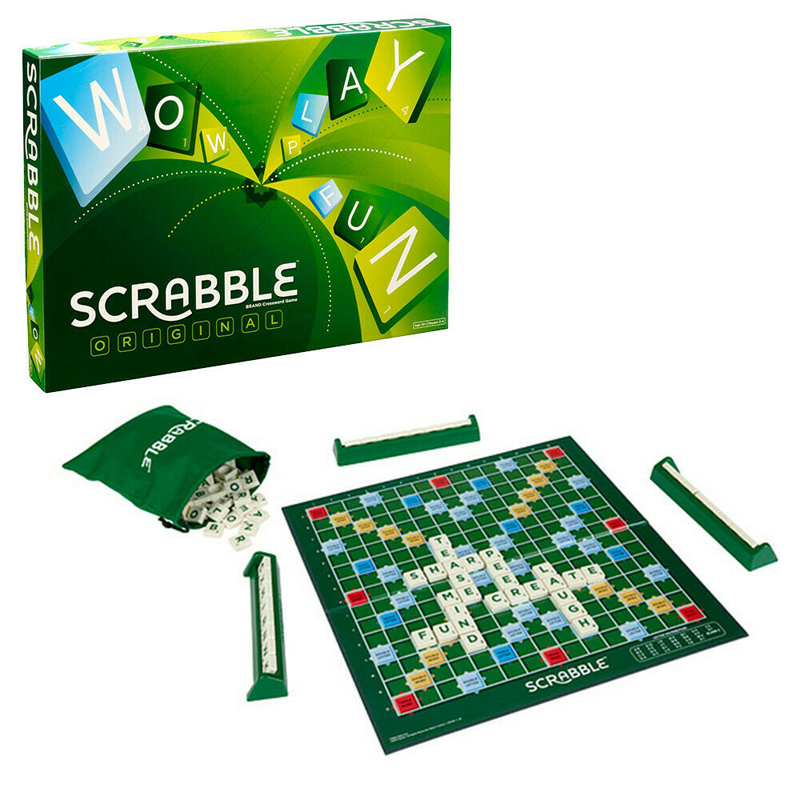 Scrabble Board Game for Family New Look