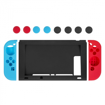 11pcs/set Silicone Case Cap for Nintendo Switch Joy-Con Controller