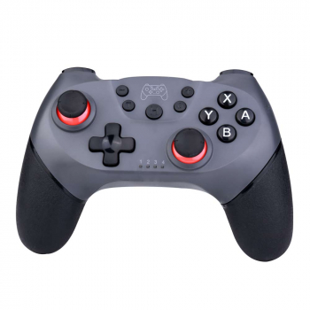 Bluetooth Wireless Gamepad for Nintendo Switch - Silver + Grey