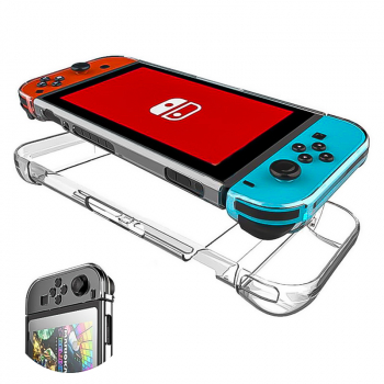 5 in 1 Nintendo Switch Transparent Shockproof Protective Case